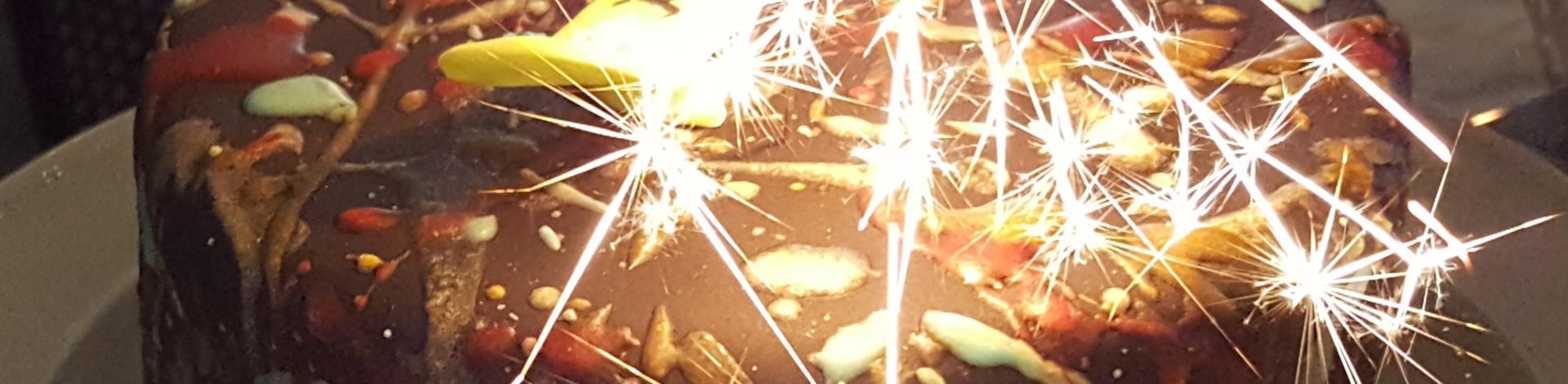 Birthday Cake Sparkels