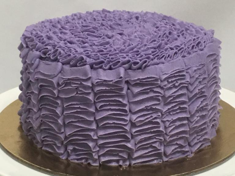 Chocolate Lavender Mud Cake